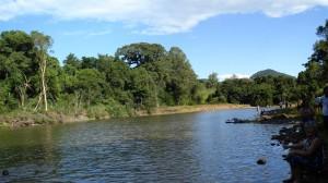 Um lugar paradisíaco para pescar e meditar, um pedaço do céu na terra.