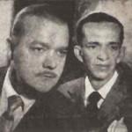Walter broda e Pinguinho, humoristas da era do rádio